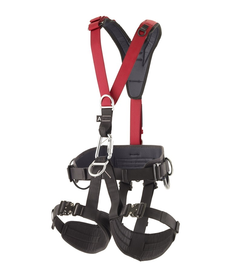 viking-harness-a100-carabiner-red_1
